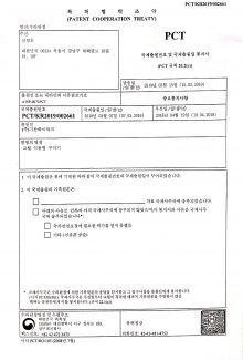 PCT출원증(국제특허)
